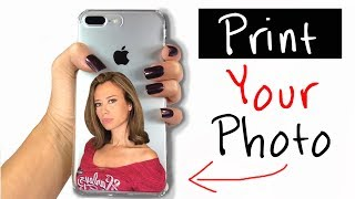 How to Print Your Photo on Phone Cover DIY