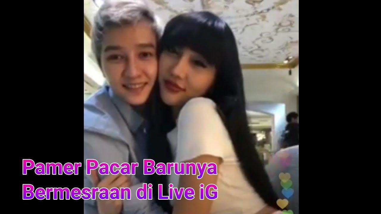 Lucinta Luna Bermesraan Dengan Pacar Barunya Di Live IG (Tanpa Status)
