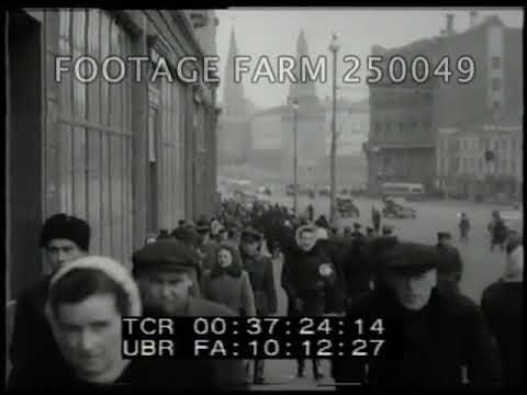 1940s Moscow Stock Shots - 250049-08   Footage Farm Ltd