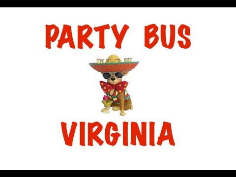 Party Bus Rental in Virginia - Virginia Beach, Norforlk, Chesapeake, Arlington, Richmond, Alexandria