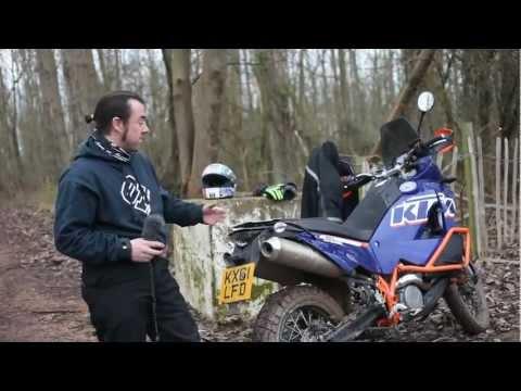 2012 KTM 990 Adventure ridden