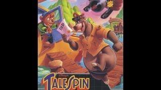 Disney's TaleSpin Complete Playthrough. Sega Mega Drive (The High Boys Ltd)