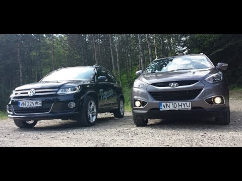 2014 Hyundai ix35 vs VW Tiguan