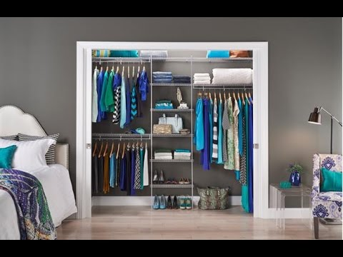 Closet cabinet design for small spaces youtube - Closet for small room ...