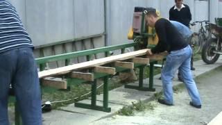 Продольно обрезной станок ППЗ-400 / Longitudinally sawing machines PPZ-300(, 2016-10-18T07:06:19.000Z)