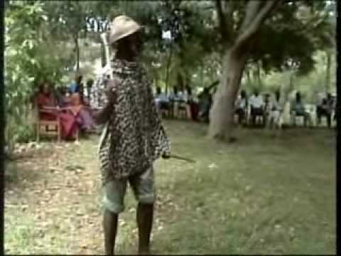 Luo Traditional Warrior Dance and Legend of LUANDA MAGERE.