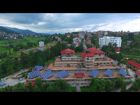 Dhulikhel Hospital Drone_ Aerial_View by DJI Phantom 3.