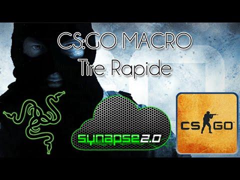 CS:GO Macro : Rapid Fire (tir rapide) [RAZER] [TUTO] [FR]