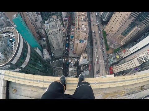 Drone Crash On Rooftop - Parkour In Hong Kong 🇭🇰