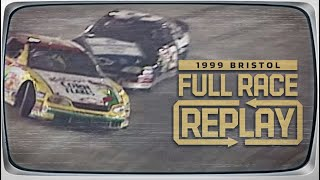 NASCAR Classic Full Race: Dale Earnhardt rattles Terry Labonte's cage | 1999 Bristol Night Race