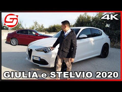 ALFA ROMEO STELVIO E GIULIA 2020: Cosa Cambia E Come Vanno Con La GUIDA AUTONOMA Di Livello 2