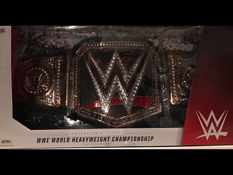WWE World Heavyweight Championship Collectible Title Belt Toys R Us Exclusive