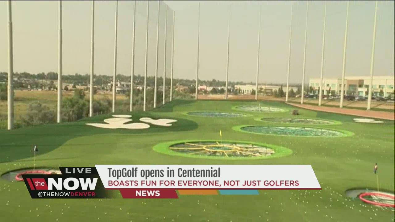TopGolf opens in Centennial - YouTube