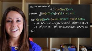 Product rule - 3+ functions