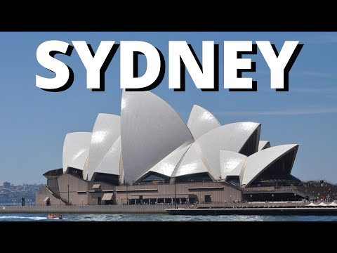 City break to Sydney Australia 2017 holiday vacation travel tour video