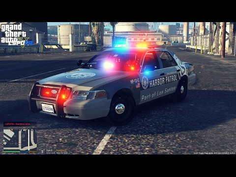 GTA V LSPDFR EPISODE 177 HARBOR PATROL CHAPTER 1