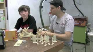 Red Toolbox Kids Woodworking Project Kits