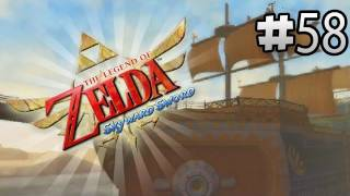 Skyward Sword Lets Play - Sand Ship Time Shift Stone - Engine One - Episode 58