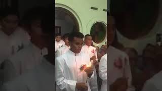 Penjubahan para Frater TOR 31, Lawang, Malang. 8 januari 2018