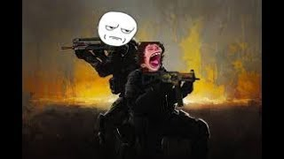 Playing with a TOXIC spoiled brat in CS:GO