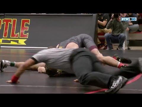 Minnesota at Maryland - Wrestling Highlights