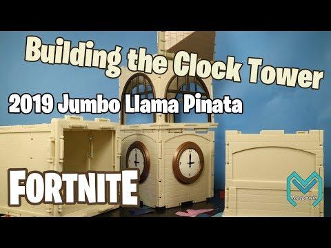 Building The 2019 Fortnite Clock Tower Jumbo Llama Loot Pinata Part 2