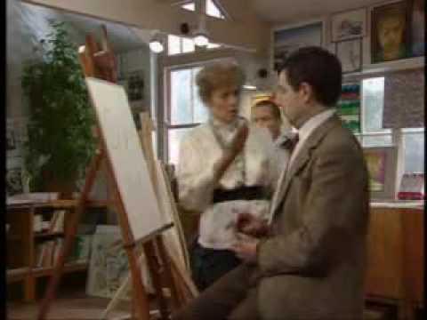 Mr Bean: The Whole Bean - Mr. Bean goes to art class (3/3