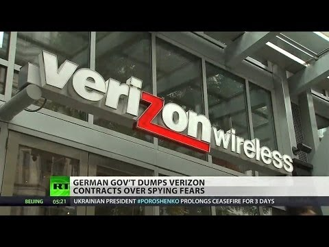 Germany sacks Verizon over NSA spying
