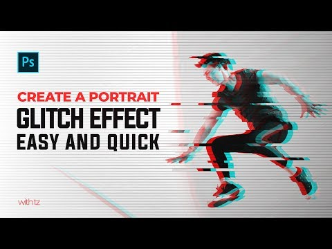 How To Create A Portrait Glitch Effect In Photoshop