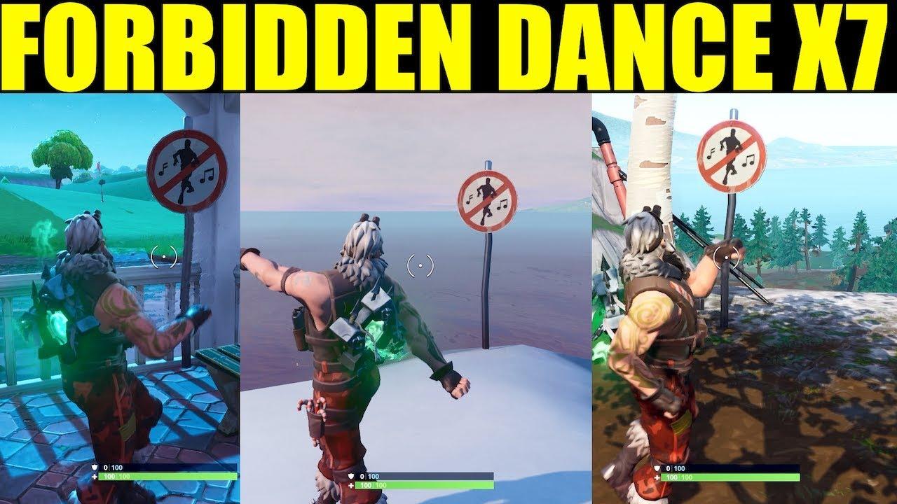 Dance In Different Forbidden Locations All 7 Forbidden Locations