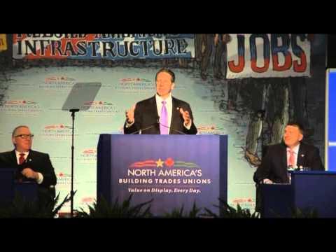 Governor Cuomo Delivers Remarks at North America Building Trades Union's Legislative Conference