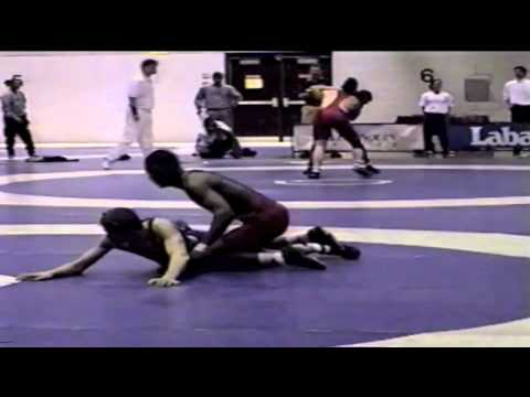 2000 Junior National Championships: 69 kg Josh Powell vs. Matthew Farrell