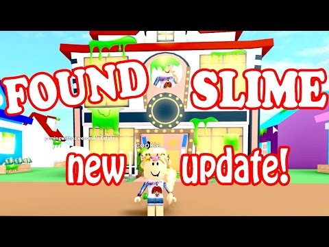 Roblox / FOUND ALL THE SLIME VIALS!!! NEW SLIME UPDATE!! / Meep City / GamingwithPawesomeTV