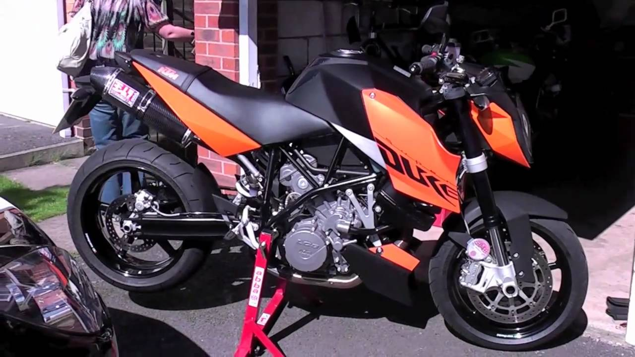 ktm 990 superduke with yoshimura exhaust - youtube