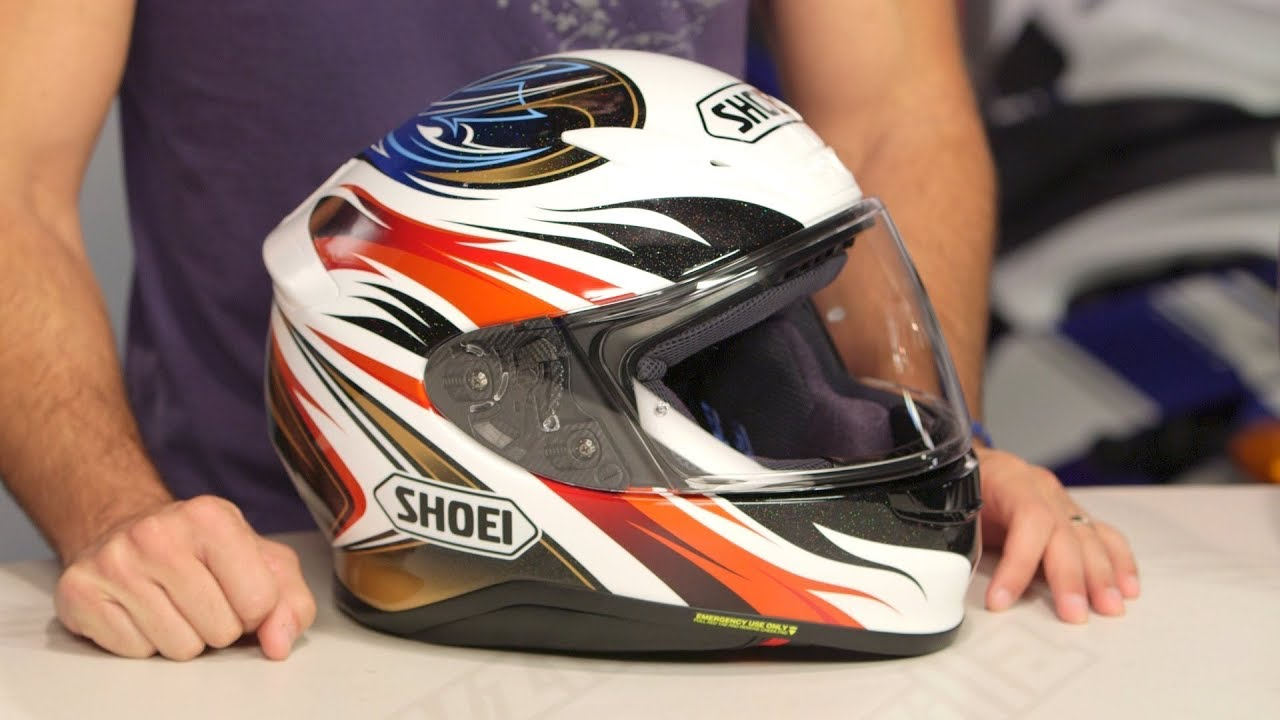 522cce39 Shoei RF-1200 Incision Helmet Review at RevZilla.com - YouTube
