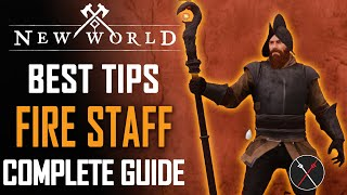 New World Fire Stąff Weapon Guide and Gameplay Tips - Best Skills & Abilities