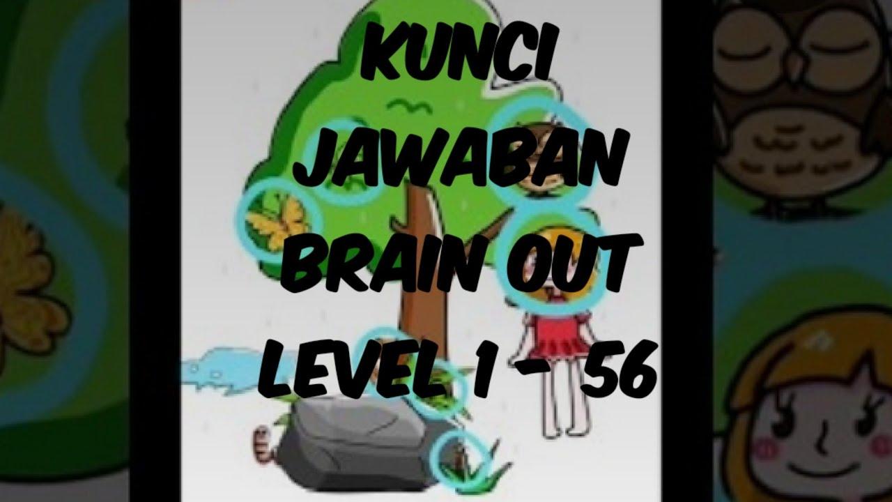 Kunci jawaban brain out level 1 - 60 - YouTube