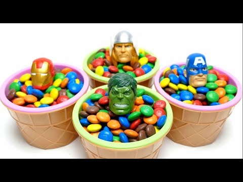 Thumbnail: Avengers M&M's Hide & Seek Ice Cream Cups