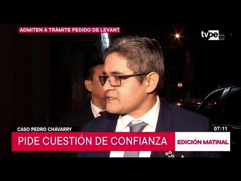 José Domingo Pérez cuestiona al Congreso y se suma a pedido de cuestión de confianza