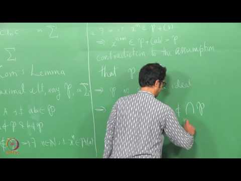 Lecture 4 -  Operations on Ideals
