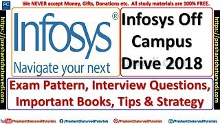 HOW TO CRACK INFOSYS EXAM || EXAM PATTERN, BOOKS, INTERVIEW QUESTIONS, STRATEGY ||