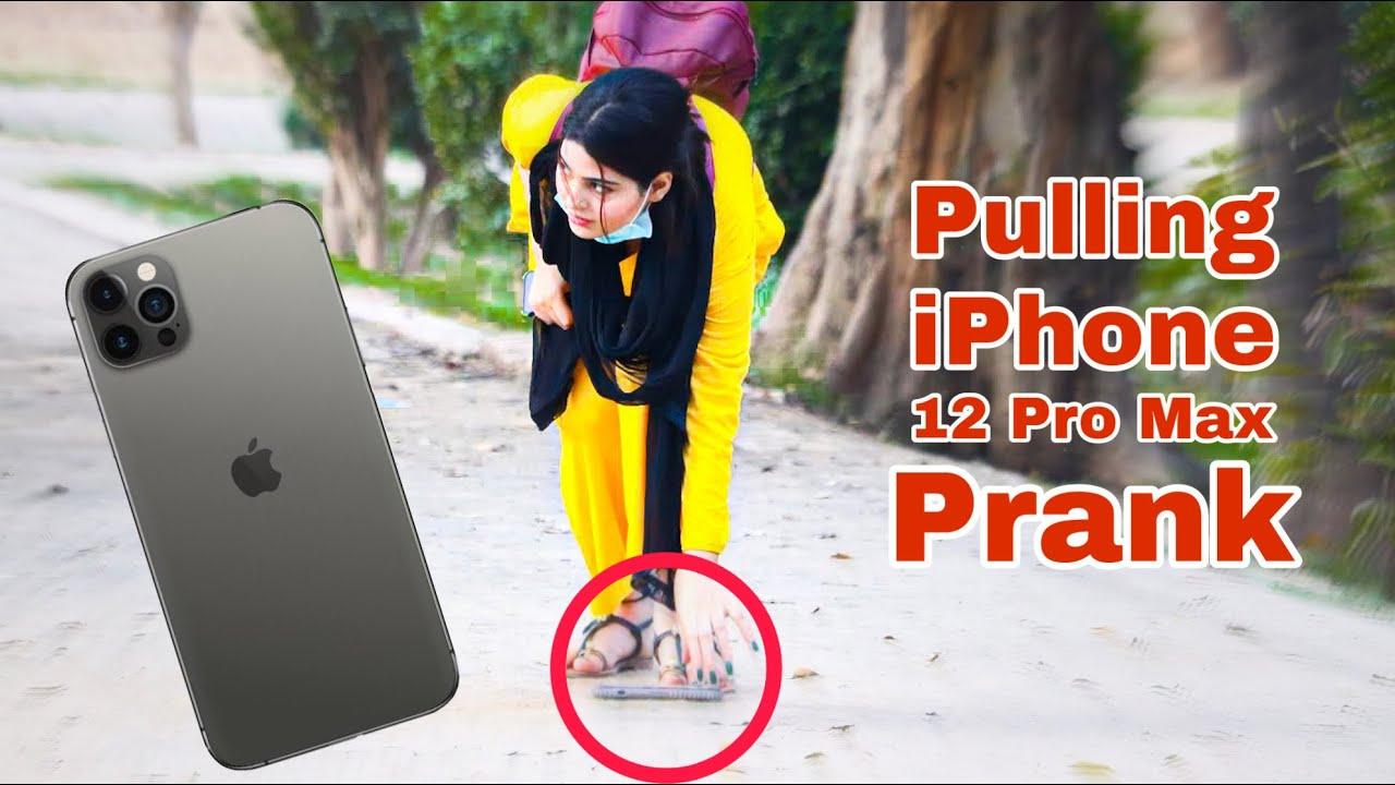 Pulling IPhone 12 Pro Max Prank | Prank in Pakistan