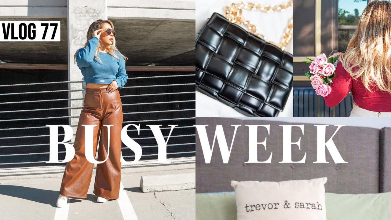 VLOG 77 | GIRLS' TRIP 2021 PLANNING + Hot Rollers Tutorial + Bottega Veneta Bag Dupe + New Headboard