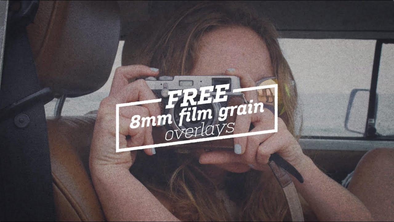 Free 8mm Film Grain Overlays