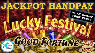 MR. CT's BIGGEST WIN - JACKPOT HANDPAY! Lucky Festival Slot Machine - 2K Subscriber Special!