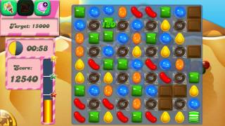 Candy Crush Saga Level 166 No Boosters