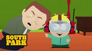 I'M A BAAAAD MAN!!! -  South Park(Butters goes off the grid in virtual reality. Watch full South Park episodes for FREE here: http://southpark.cc.com/, 2014-11-13T23:35:52.000Z)