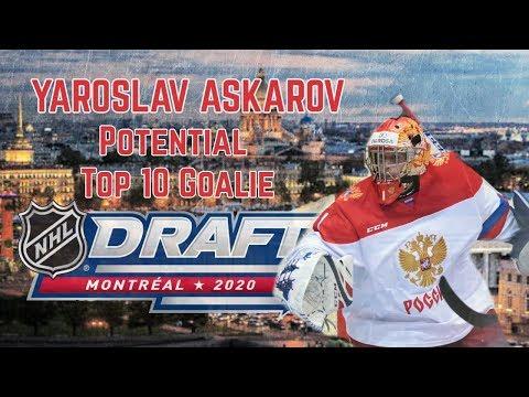 Yaroslav Askarov: The Best Goalie Prospect Of The Decade?