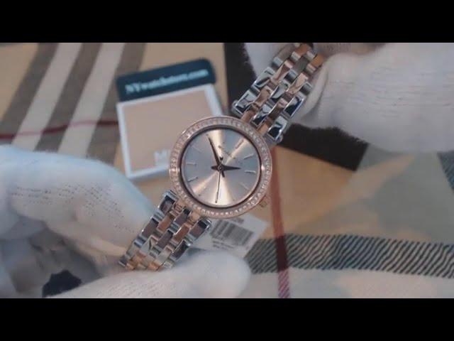 e10ffa3318de VIDEO Review) Michael Kors Women s Darci Two-Tone Watch MK3298 ...