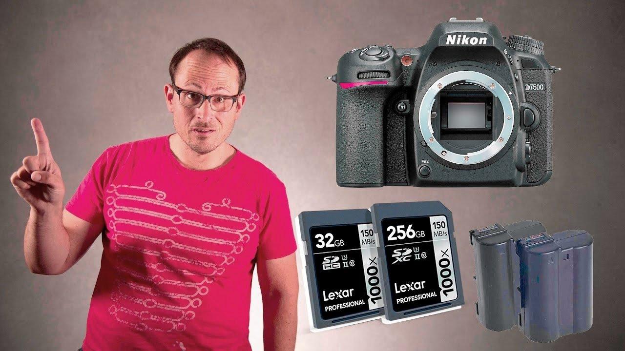 Nikon D7500 Preview (Vs D7200 & D500)
